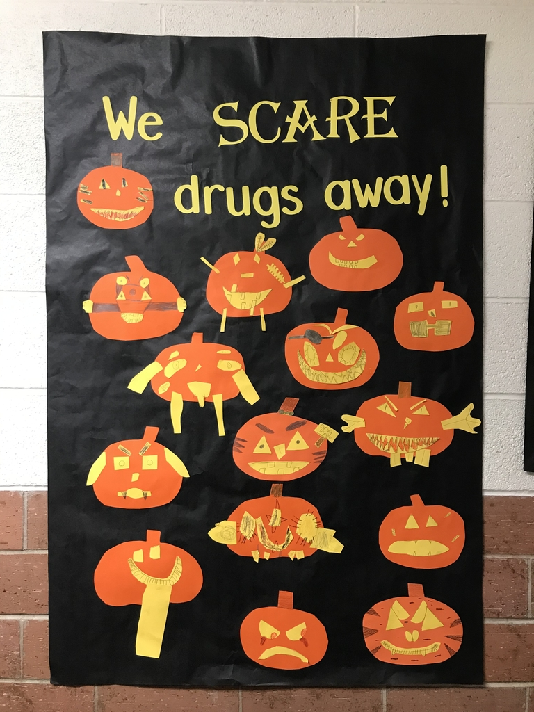 Scare drugs away.