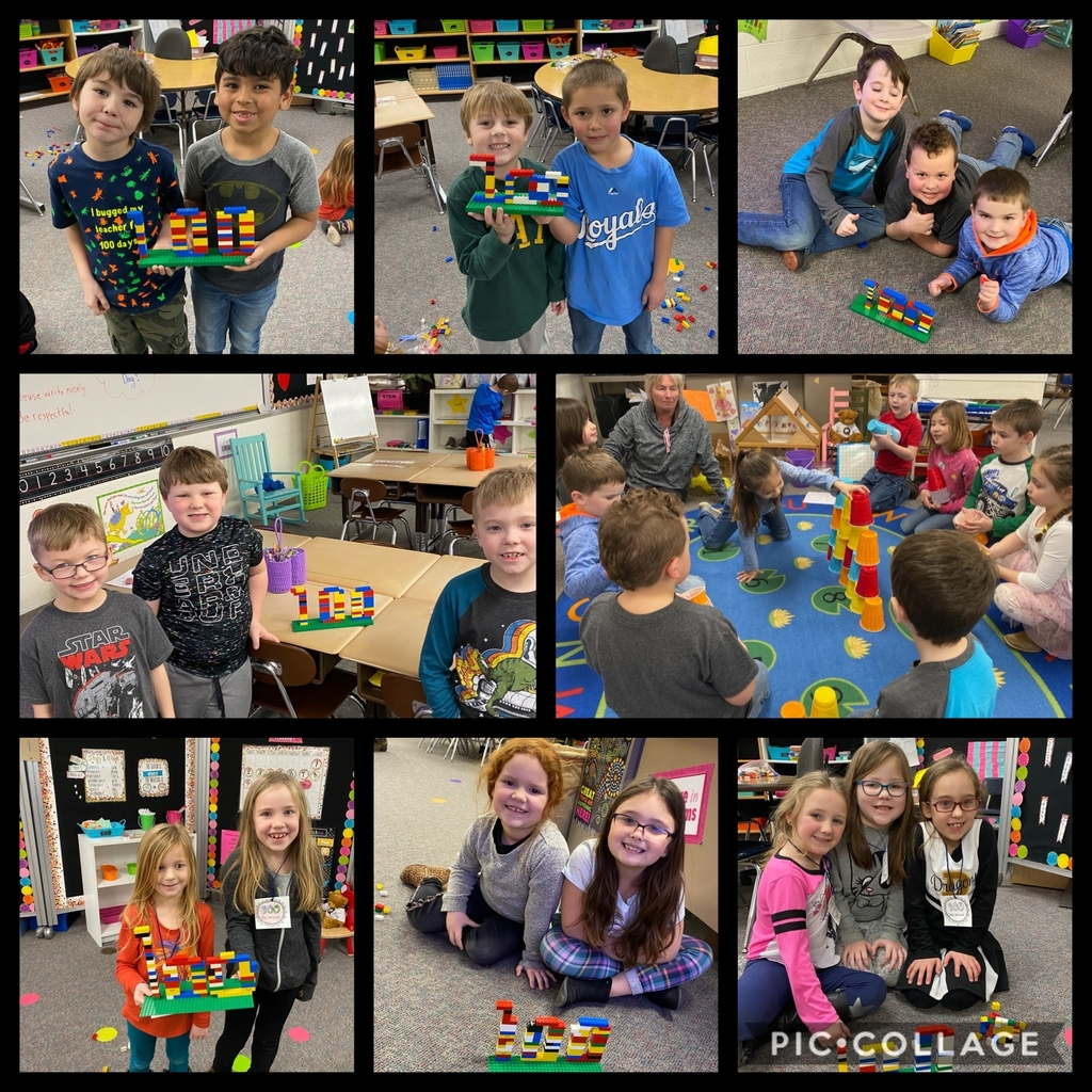 Stem activity with 100 legos!